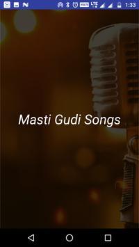 Songs of Masti Gudi Kannada MV poster