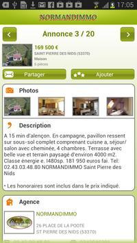 NORMANDIMMO PAYS DE LOIRE screenshot 1