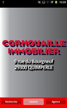 CORNOUAILLE IMMOBILIER poster