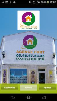 AGENCE FORT poster