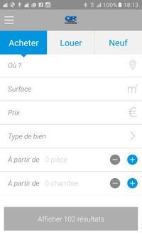 Immobilière Claude Rizzon apk screenshot