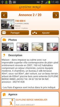 Guylene Berge Immobilier For Android Apk Download