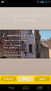 L'IMMOBILIERE BUECHER poster