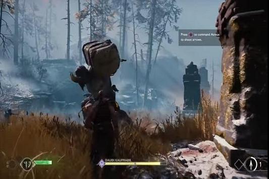 Trick God of War 4 screenshot 1