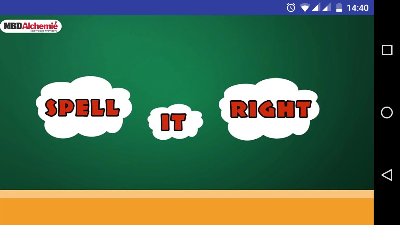 Spell It Right for Android - APK Download