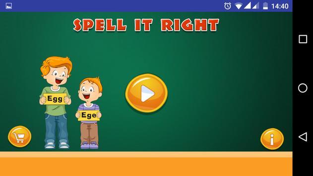 Spell It Right screenshot 1