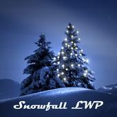 Winter Snowfall LWP Ads-free icon
