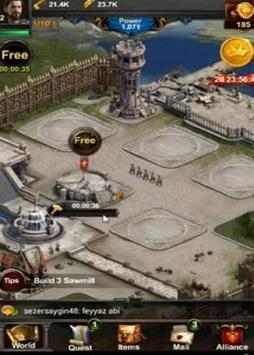 Guide play Clash Of The kings apk screenshot