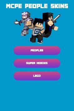 People Skins For Minecraft PE Free apk screenshot