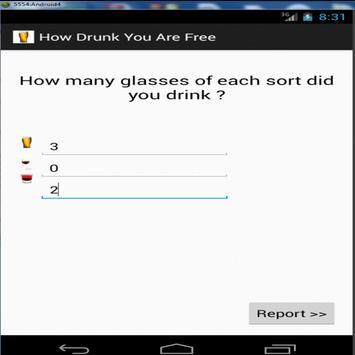 How Drunk You Are Free apk screenshot