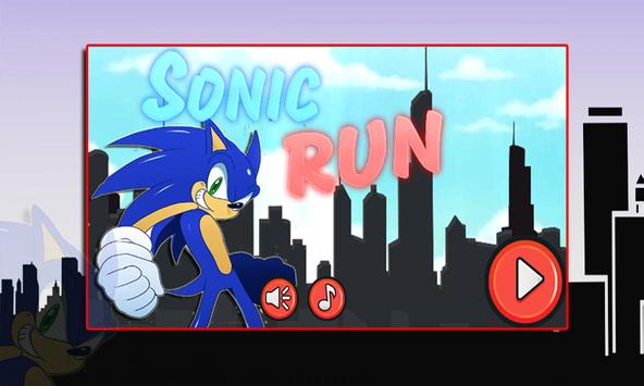 Sonic Run - Game poster
