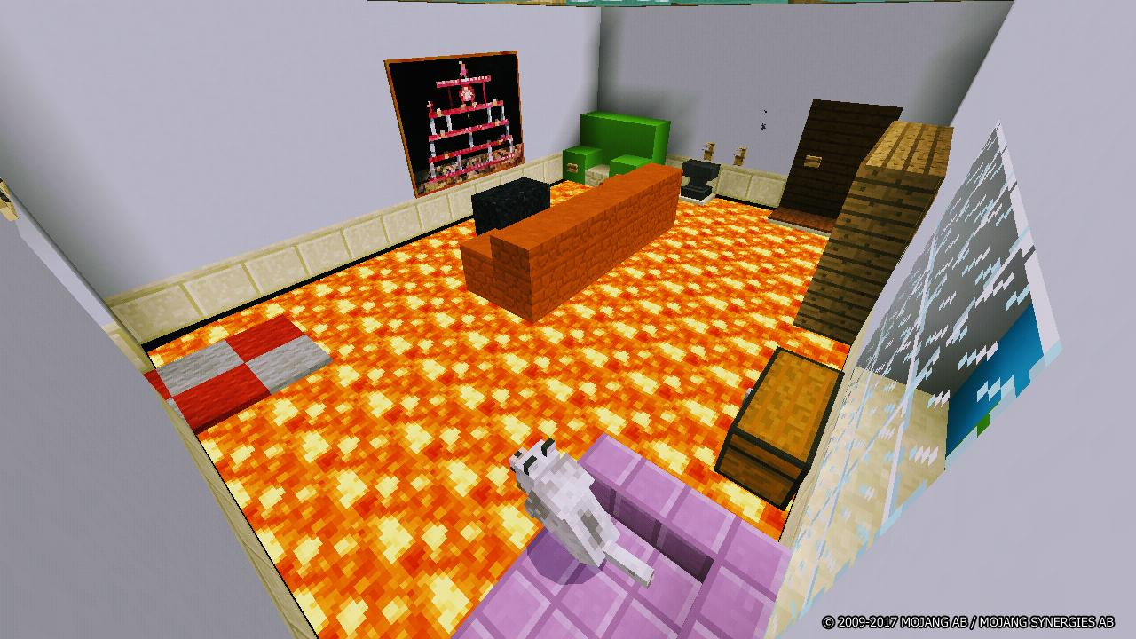 Map Floor Is Lava for Minecraft PE for Android - APK Download