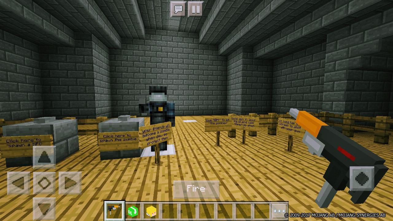 The Zombie Extreme Minecraft Shooter Map für Android - APK ...