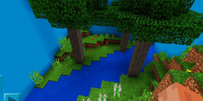 Find the Button: New Biomes. Map for MCPE screenshot 3