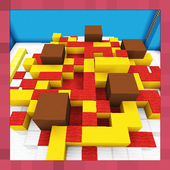 Find the Button: Crazy Food. Map for MCPE icon