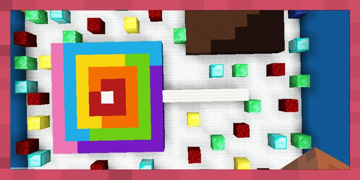 Find the Button: Crazy Food. Map for MCPE screenshot 8