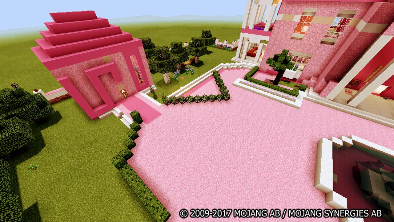 The Pink House Map for Minecraft for Android - APK Download