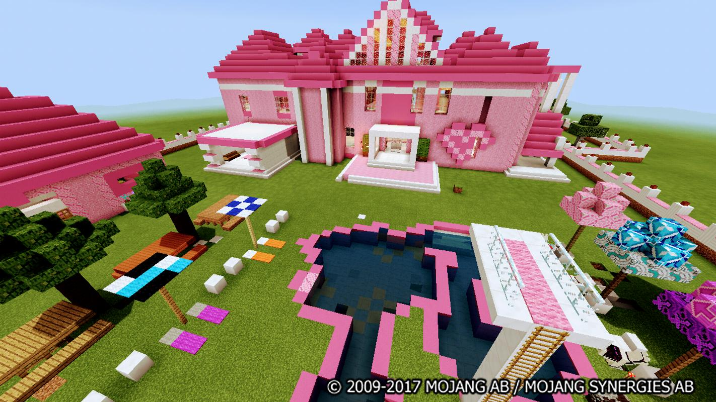 The Pink House Map For Minecraft For Android Apk Download