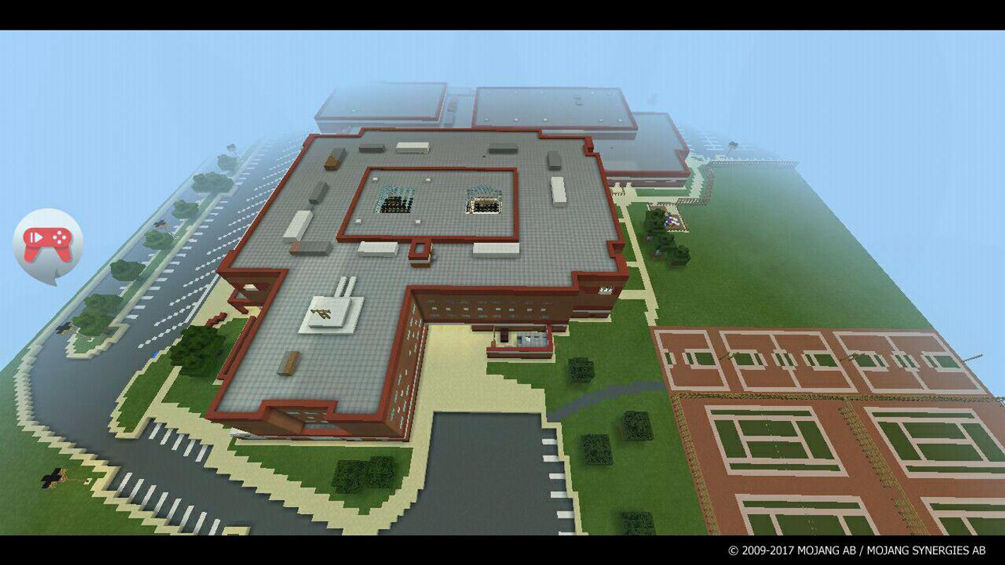 карта школы на майнкрафт #11