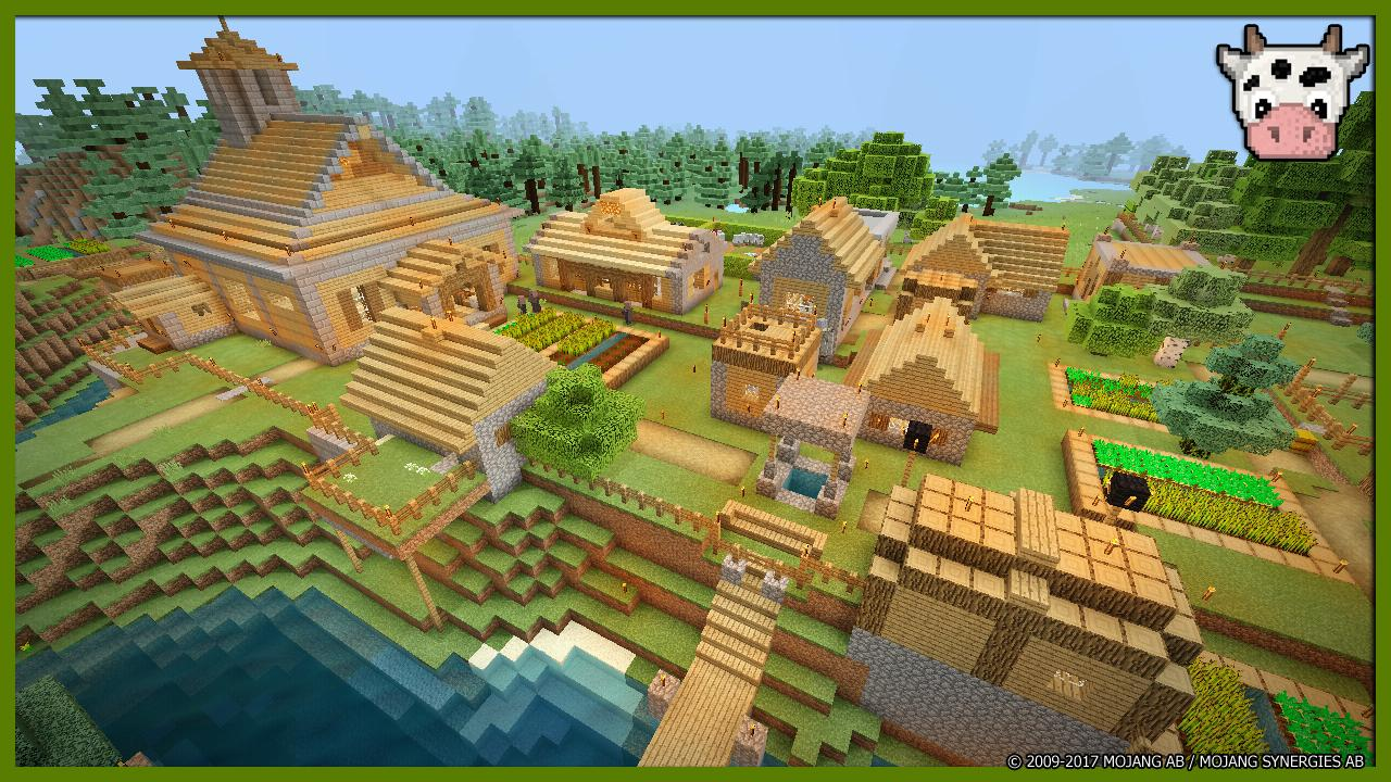 Survival Village Minecraft map for Android - APK Download