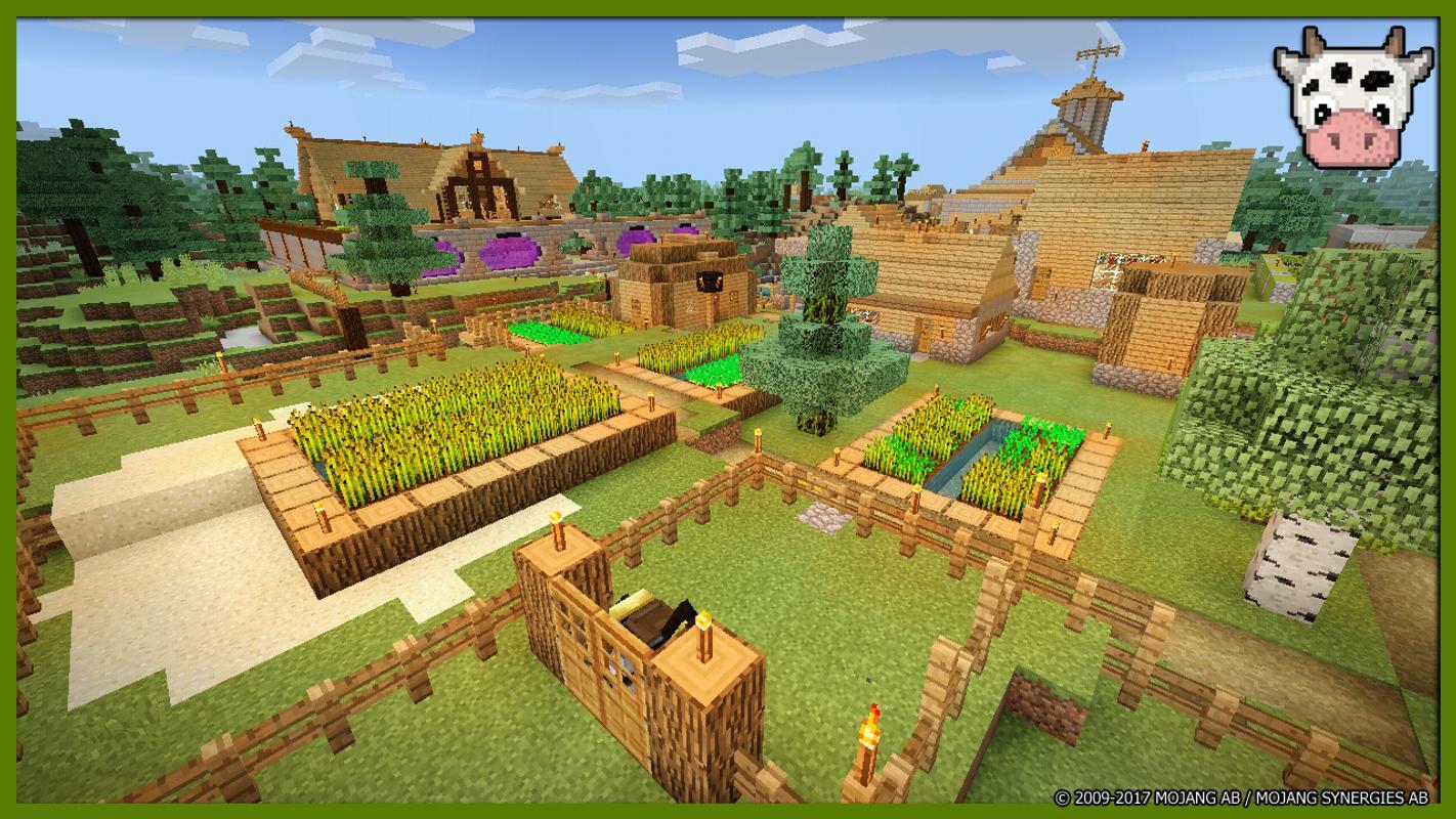 Minecraft sky village map download | SkyBlock Map 1 13 2