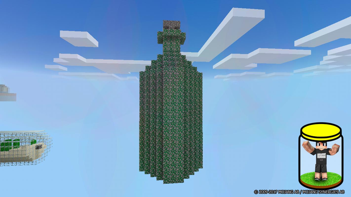 the world in a jar is survival map for minecraft apk screenshot