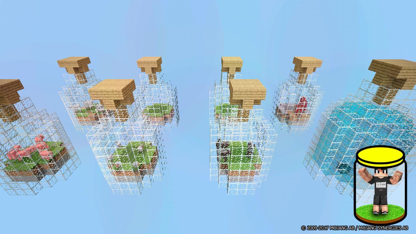 карта для майнкрафт 1.6.4 мир в бутылке #5