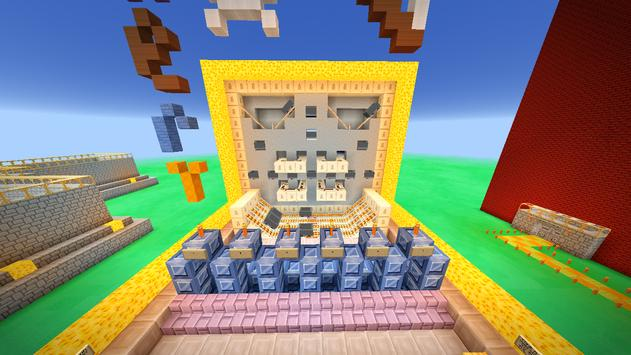 Mini-games Central Map for Minecraft screenshot 2