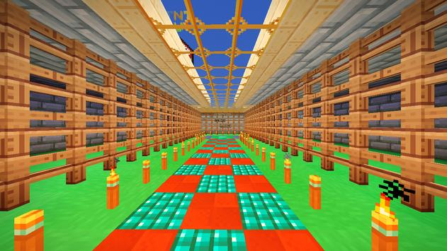 Mini-games Central Map for Minecraft screenshot 8
