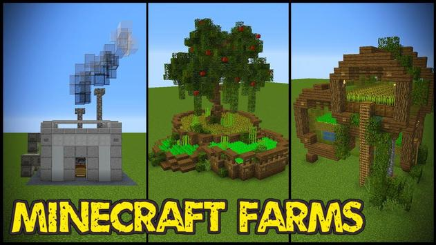Survival Minecraft Farming Mode - Village Maps screenshot 1