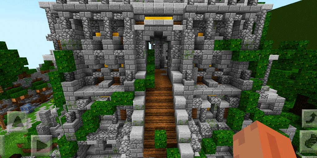 Walls: Real Man PvP Mini-game. Map for MCPE for Android ...