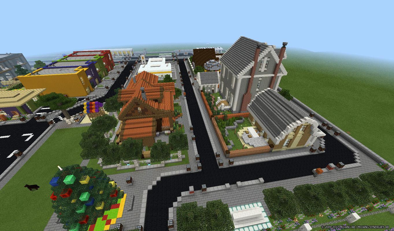 карты майнкрафт города #11