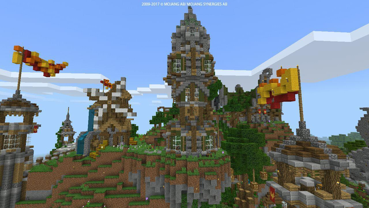 The Largest Map Of Fantasy Craft For Mcpe For Android Apk