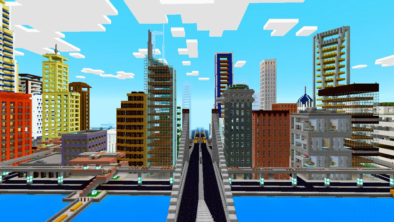 Mega city map for minecraft PE for Android - APK Download