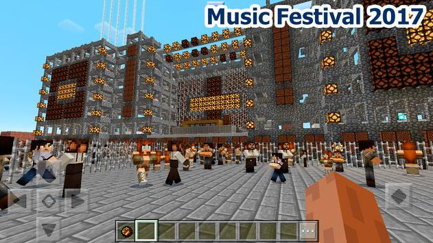 New music festival map MCPE apk screenshot