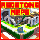 Redstone maps for minecraft PE icon