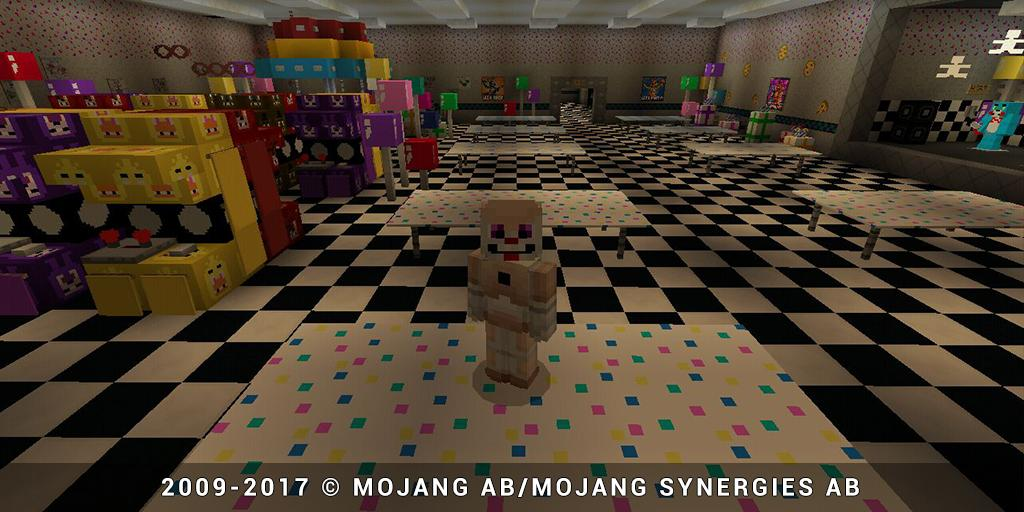New FNAF 2 map for MCPE for Android - APK Download