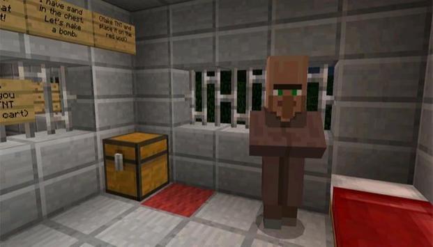 Prison Escape Map for MCPE poster