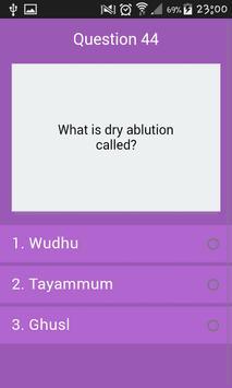 General Culture : Islam Quiz screenshot 5