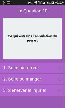 Culture Générale : Islam Quiz screenshot 4