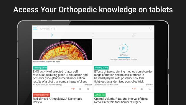 INSIGHTS Orthopedics apk screenshot