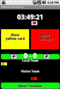Referee Assistant poster
