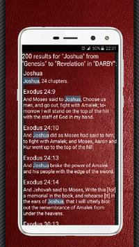 Bible (DARBY) Darby Translation English Free screenshot 7