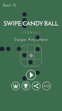 Swipe Candy Ball poster