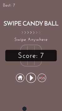 Swipe Candy Ball apk screenshot