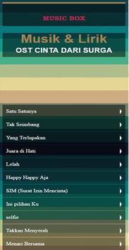 Ost Cinta Dari Surga Musik Mp3 apk screenshot