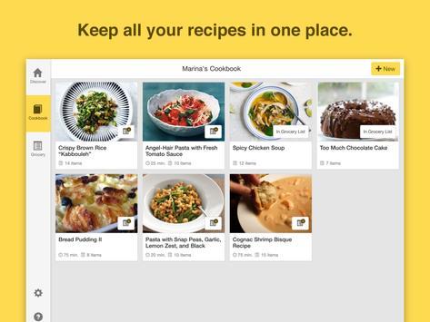 Chefnote Recipe & Grocery List apk screenshot