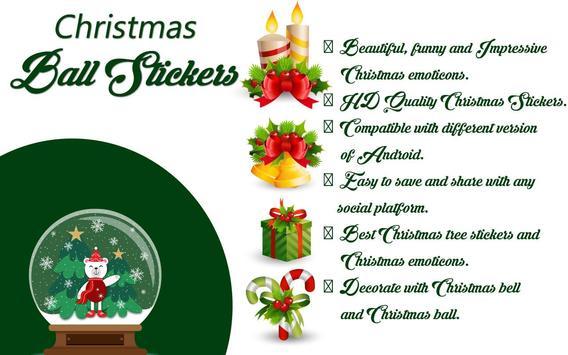 Christmas Ball Stickers apk screenshot