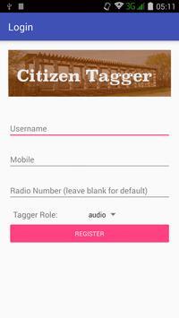CitizenTagger (Unreleased) poster