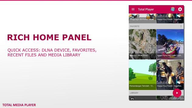 Total Media Player Pro screenshot 1